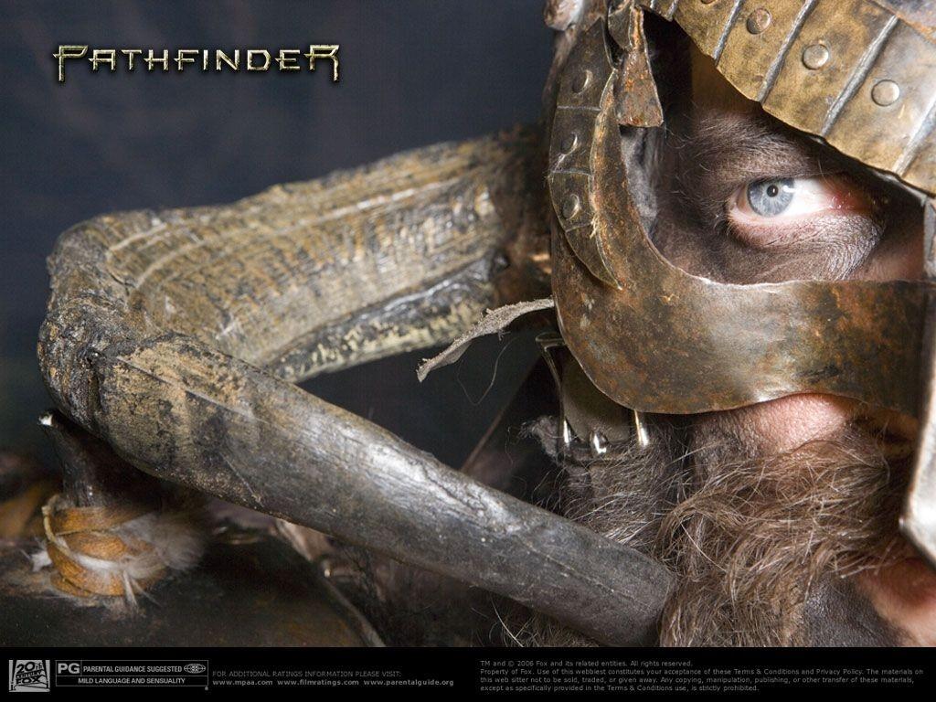 Wallpaper promozionale del film Pathfinder - La leggenda del Guerriero Vichingo