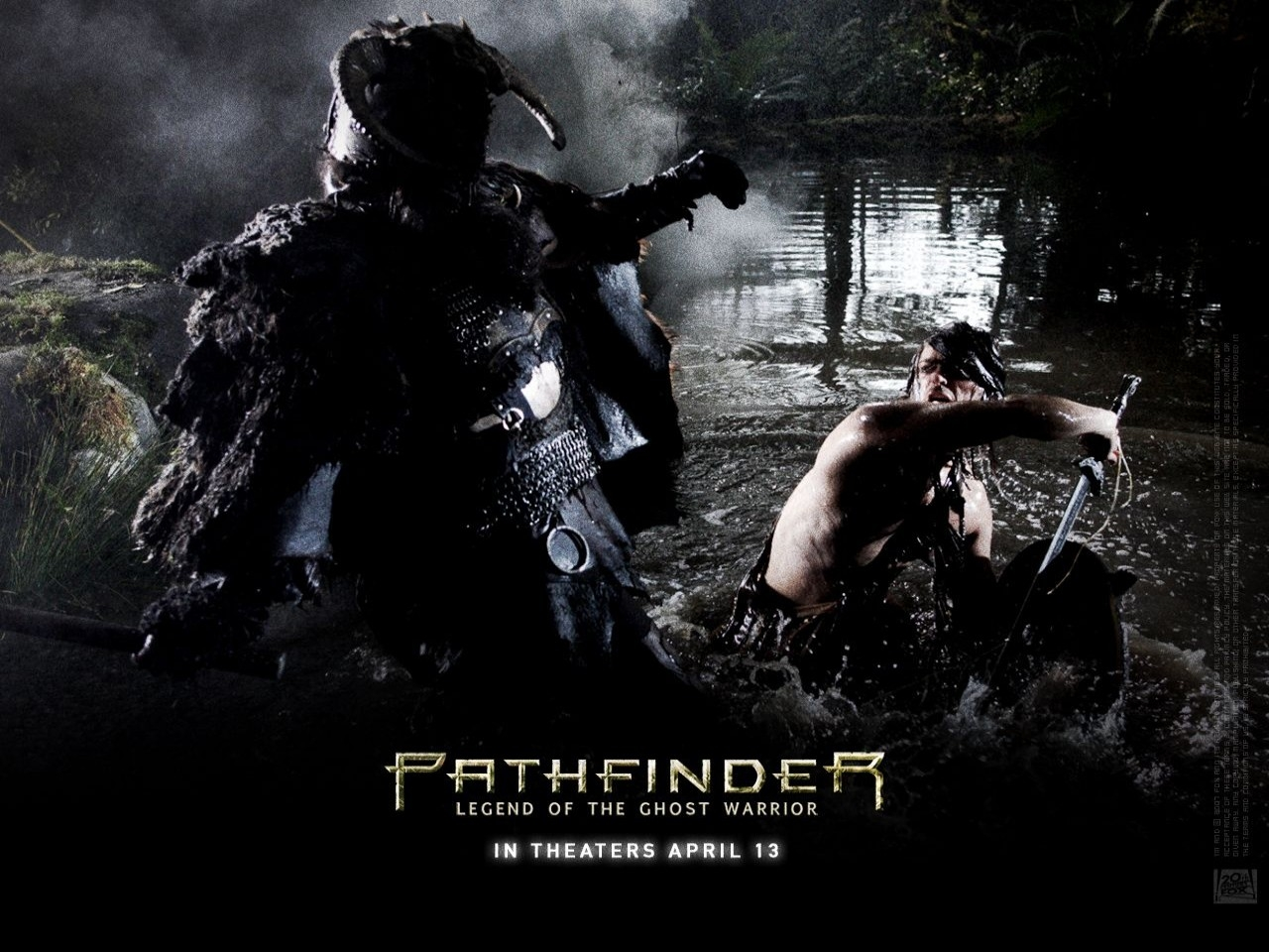 Wallpaper del film La leggenda del Guerriero Vichingo, Pathfinder