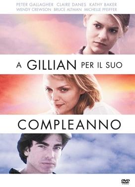La copertina DVD di A Gillian per il suo compleanno