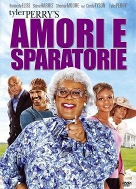 La copertina DVD di Amori e sparatorie