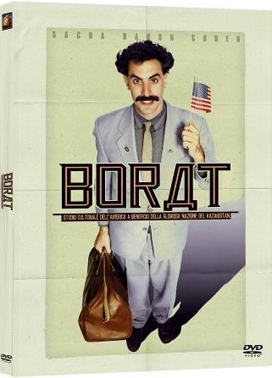 La copertina DVD di Borat