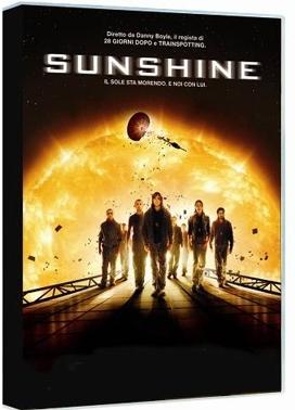 La copertina DVD di Sunshine