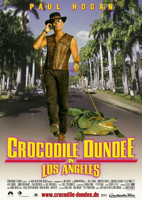 La locandina di Mr.Crocodile Dundee 3