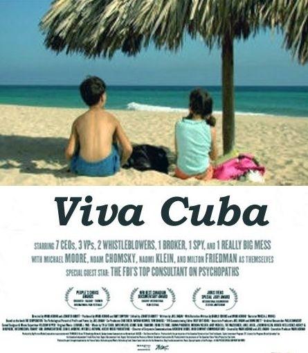 La locandina di Viva Cuba