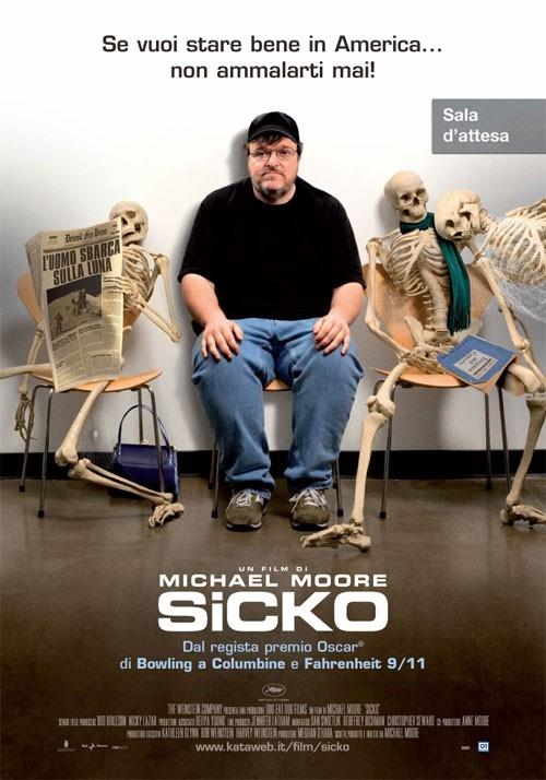 La locandina italiana di Sicko