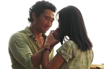 Daniel Dae Kim e Yunjin Kim in una sequenza dell'episodio 'Esodo: parte 1' di Lost