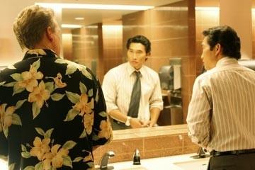 Daniel Dae Kim in bagno nell'episodio 'Esodo: parte 2' di Lost