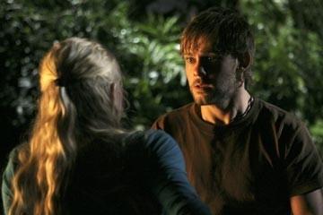 Emilie de Ravin e Dominic Monaghan nell'episodio 'Non nuovere' di Lost