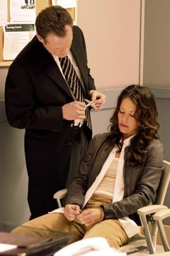 Evangeline Lilly e Fredric Lehne in una scena dell'episodio 'Esodo: parte 1' di Lost
