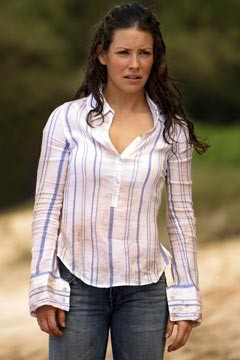 Evangeline Lilly nell'episodio 'Non nuovere' di Lost