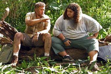 Jorge Garcia e Daniel Roebuck nell'episodio 'Esodo: parte 2' di Lost