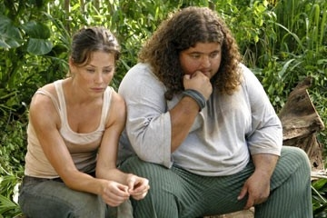 Jorge Garcia ed Evangeline Lilly nell'episodio 'Esodo: parte 2' di Lost