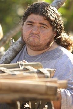 Jorge Garcia nell'episodio 'Esodo: parte 1' di Lost