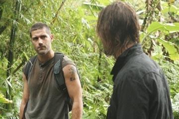 Josh Holloway e Matthew Fox nell'episodio 'Esodo: parte 1' di Lost