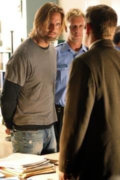 Josh Holloway nell'episodio 'Esodo: parte 1 di Lost