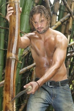 Josh Holloway nell'episodio 'Esodo: parte 1' di Lost