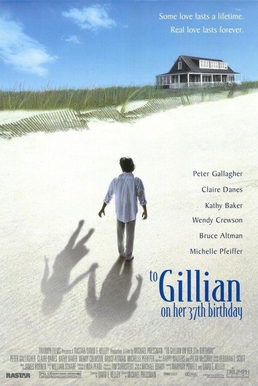 La locandina di A Gillian per il suo compleanno