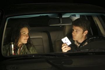 Mackenzie Astin con Evangeline Lilly nell'episodio 'In fuga' di Lost
