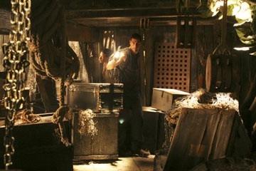 Matthew Fox nell'episodio 'Esodo: parte 2' del telefilm Lost