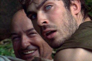 Terry O'Quinn e Ian Somerhalder nell'episodio 'Deus Ex Machina' di Lost