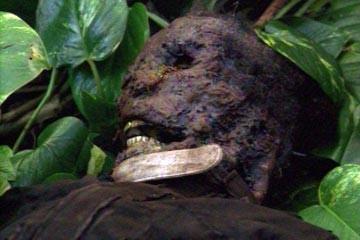 Un'immagine inquietante dell'episodio 'Deus Ex Machina' di Lost