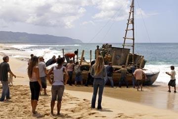 Un'immagine dell'episodio 'Esodo: parte 1' del serial Lost