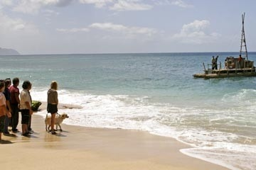 Un'immagine dell'episodio 'Esodo: parte 1' della stagione uno Lost