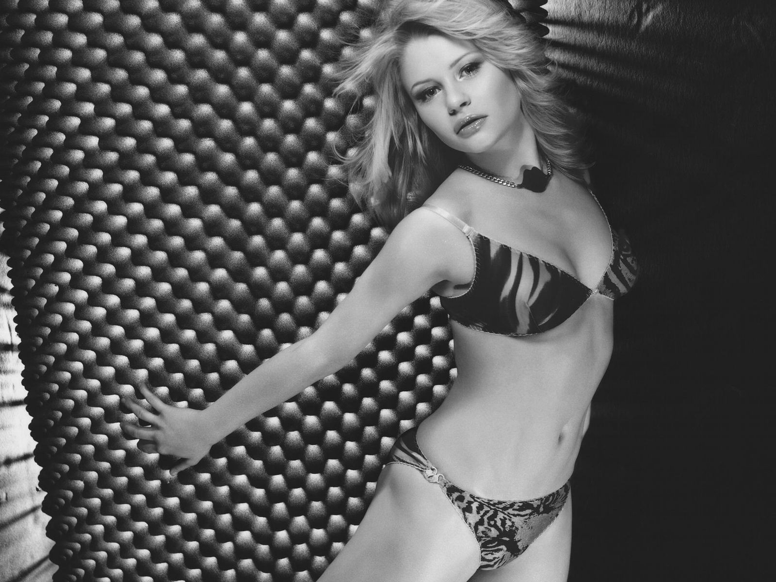 Wallpaper di Emilie de Ravin in lingerie
