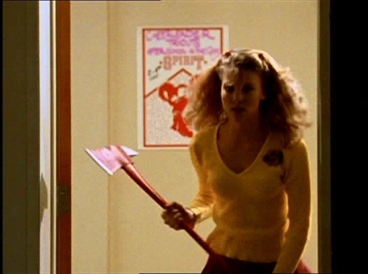 Una scena di Buffy - L'ammazzavampiri, episodio La riunione