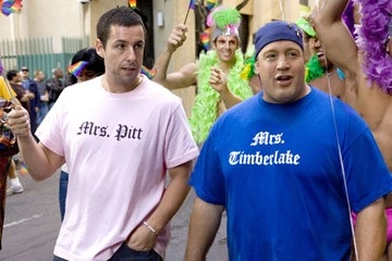 Adam Sandler e Kevin James in Io vi dichiaro marito e...marito