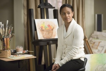 Jada Pinkett Smith in una scena del film Reign Over Me