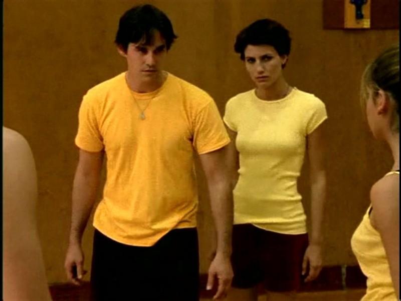 Nicholas Brendon in una scena di Buffy - L'ammazzavampiri, ep. Il branco
