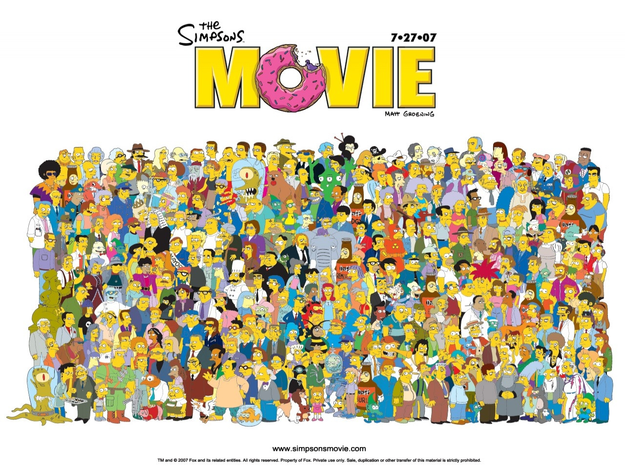 I Simpson - il film - Wallpaper