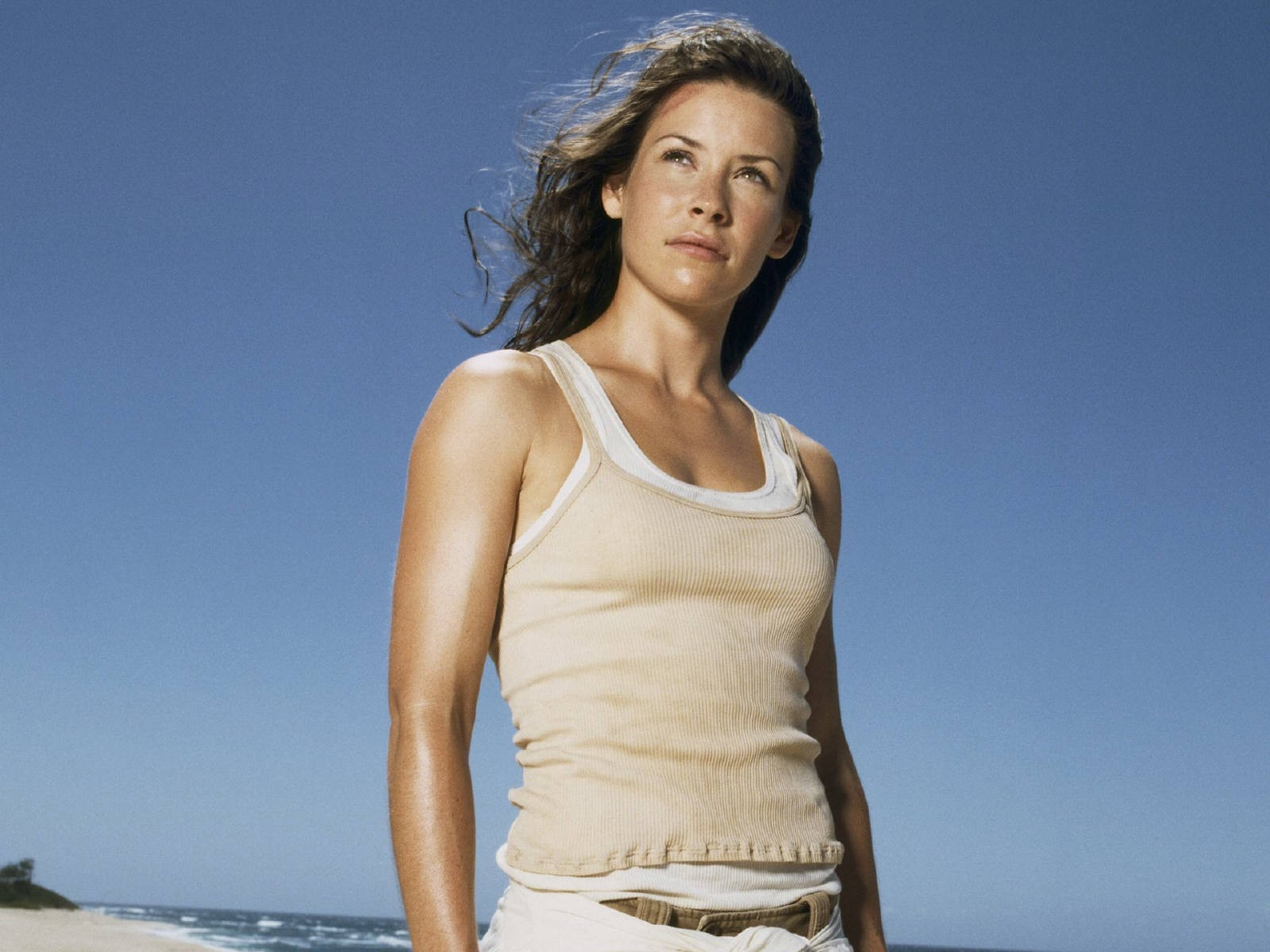 Wallpaper di Evangeline Lilly nel serial televisivo Lost