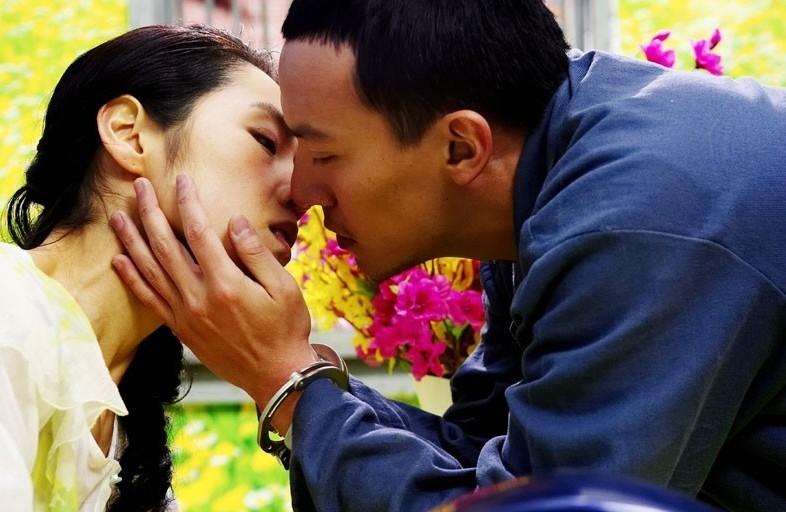 Una emozionante scena del film Breath