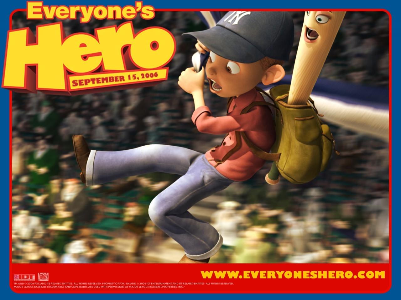 Un wallpaper del film Piccolo grande eroe