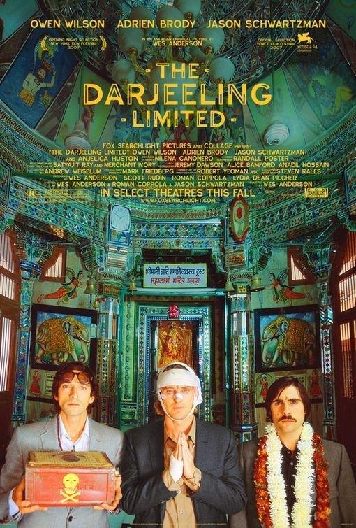 La locandina di The Darjeeling Limited