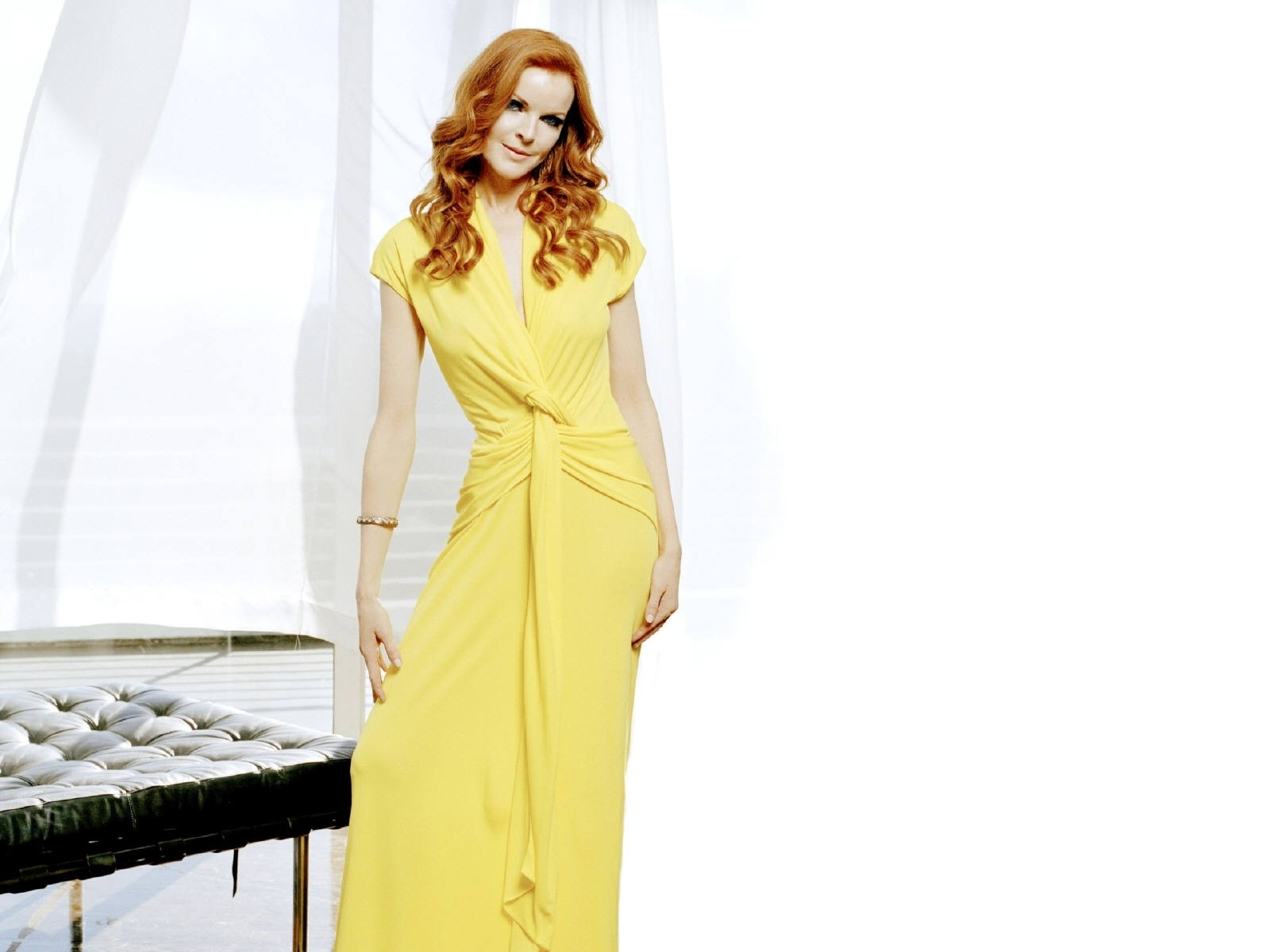 Wallpaper di Marcia Cross, attrice di Desperate Housewives