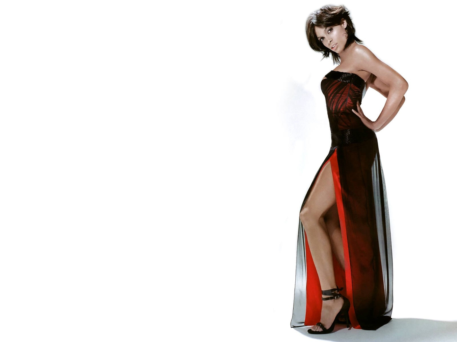 Wallpaper - una seducente Rosario Dawson