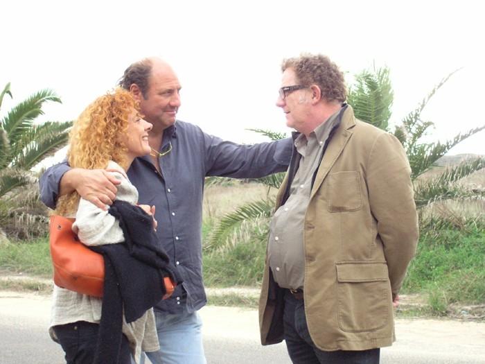 Cinzia Leone, Stefano Masciarelli e Antonello Fassari in una scena del film film Le ragioni dell'aragosta