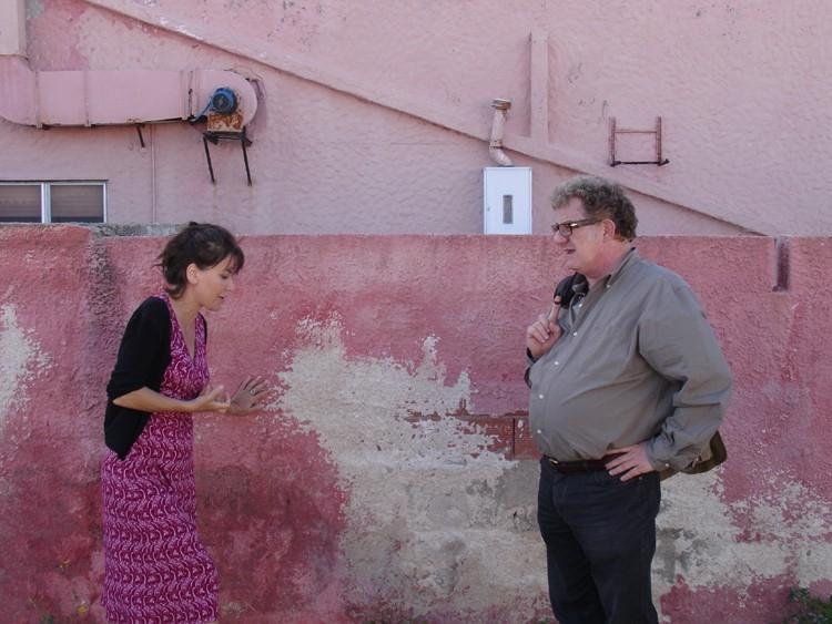 Sabina Guzzanti e Antonello Fassari in una scena del film film Le ragioni dell'aragosta