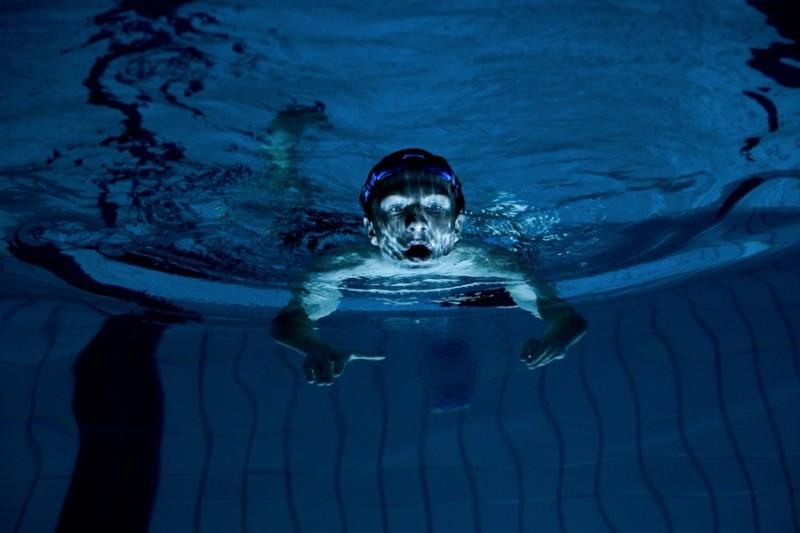Una scena del film film Freischwimmer