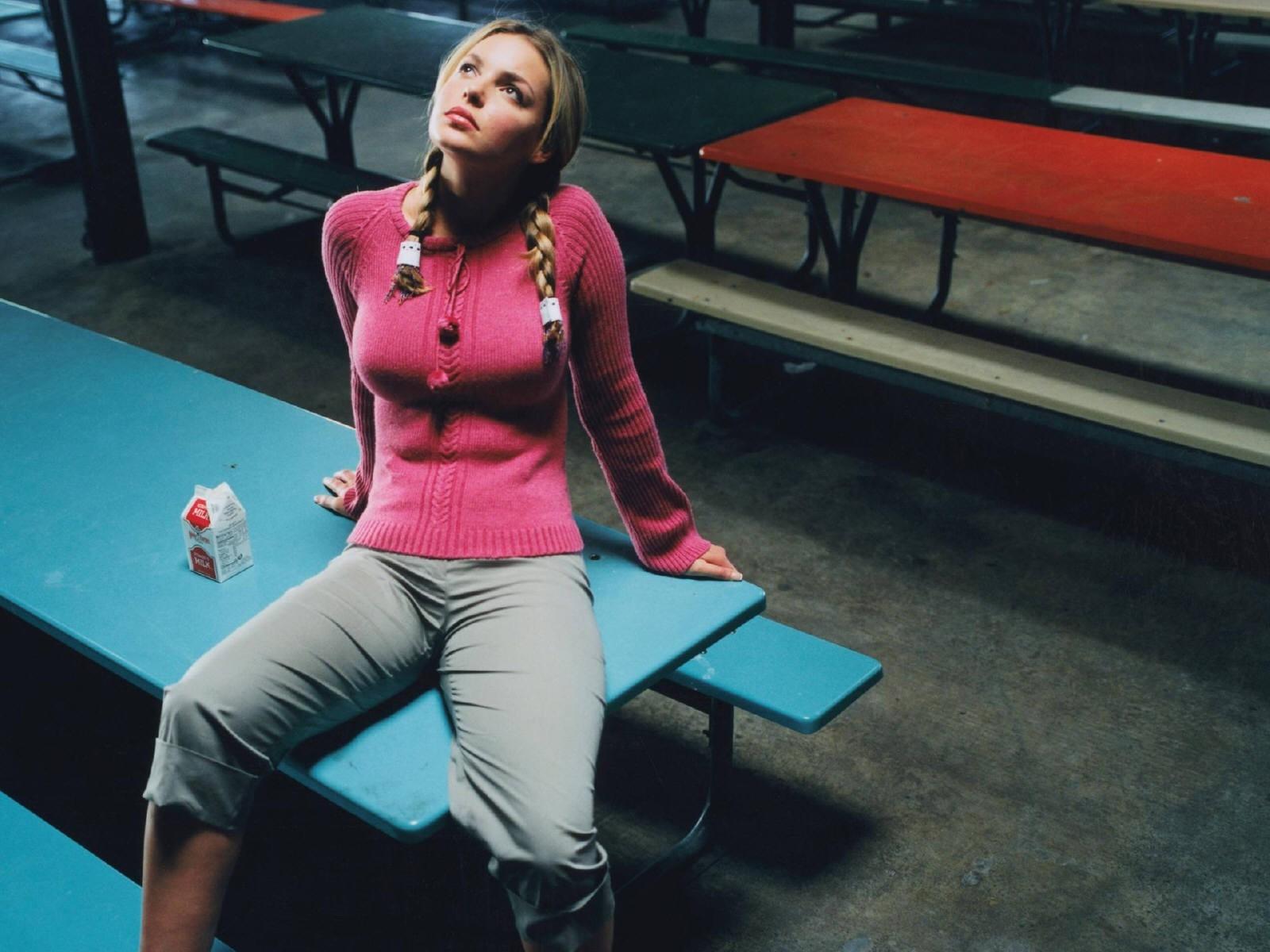 Wallpaper di Katherine Heigl - l'attrice è nata il 24 novembre '78 negli USA
