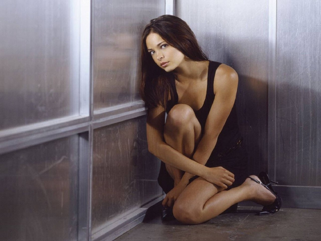 Wallpaper dell'attrice canadese Kristin Kreuk