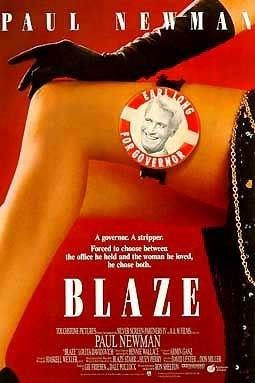 La locandina di Scandalo Blaze