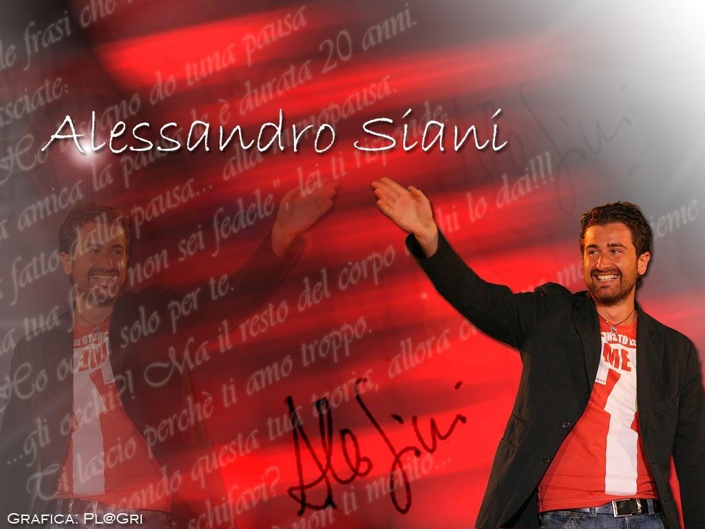 Wallpaper del comico napoletano Alessandro Siani