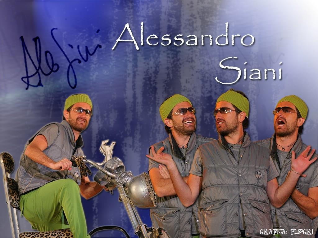 Wallpaper di Alessandro Siani con uno dei suoi personaggi più riusciti