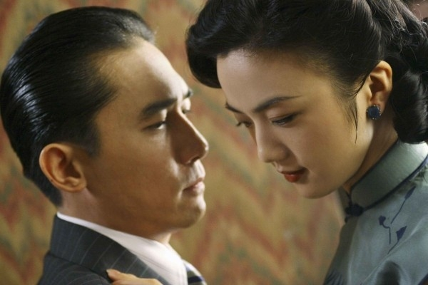 Tony Leung e Tang Wei in Lust, Caution