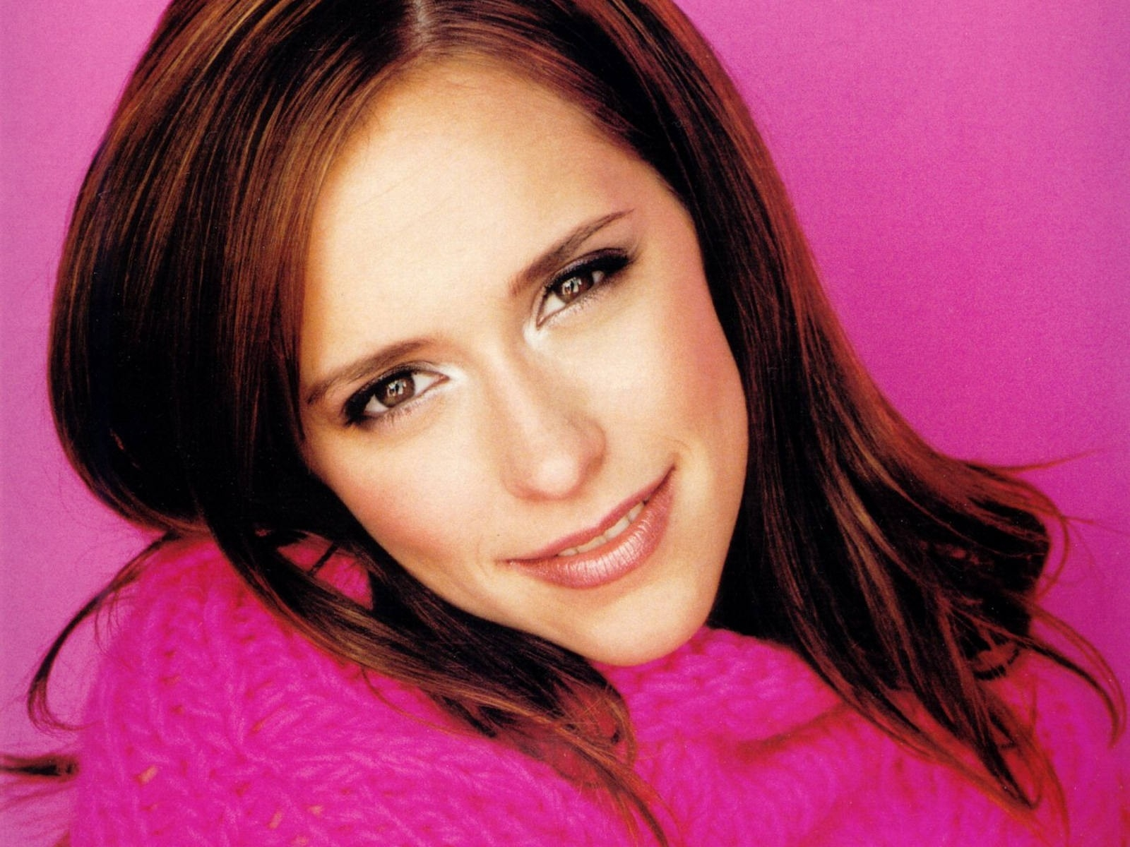 Wallpaper di Jennifer Love Hewitt, bella in rosa