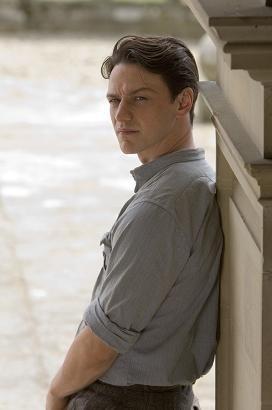 James McAvoy è il protagonista del film Espiazione